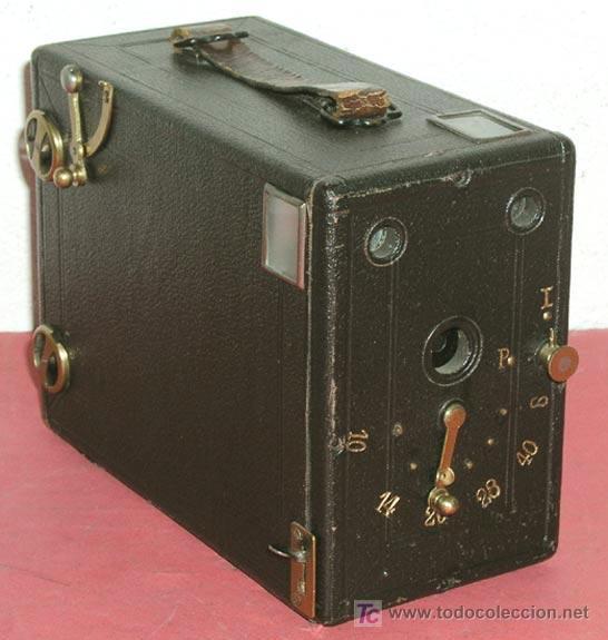 Camara Simple Express Box De Placas C1890 De C Kaufen Antike