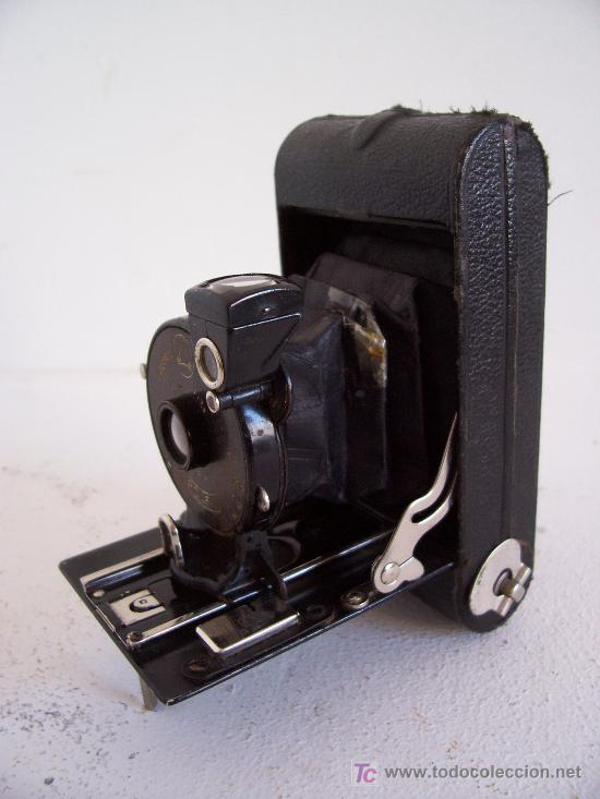 Cámara de fotos: pequeña camara ernemann dresden, rolf I, fabricado en alemania 1924 - Foto 2 - 26992865