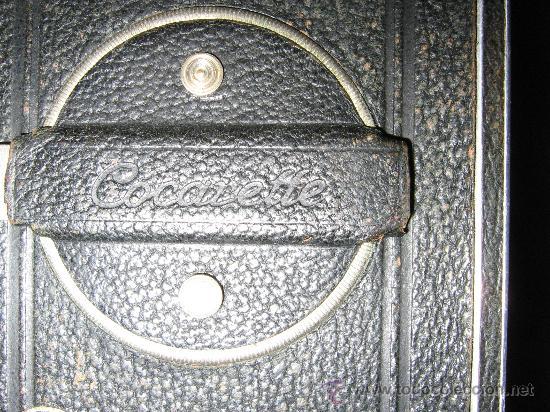 Cámara de fotos: rara camara de coleccion de fuelle, 6x 9 cm. COCARETTE , leer y ver - Foto 3 - 26841945