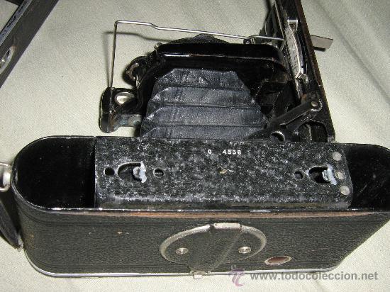 Cámara de fotos: rara camara de coleccion de fuelle, 6x 9 cm. COCARETTE , leer y ver - Foto 8 - 26841945