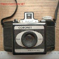 Cámara de fotos: CORONET DE BAQUELITA DE 6X6 CORRETE DE 120 FLASHMASTER. Lote 26853659