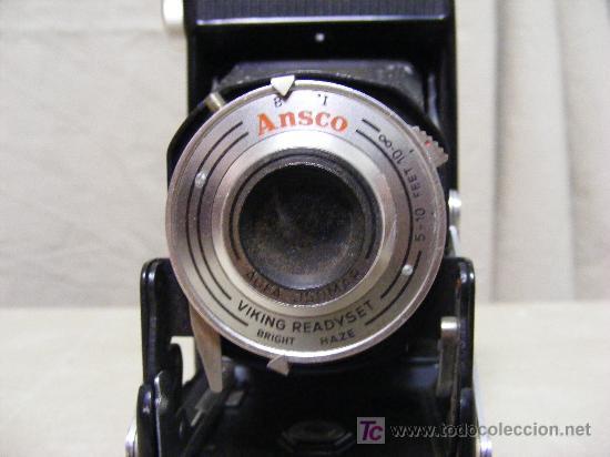 CÁMARA DE FOTOS ASCÓ CON FUNDA ORIGINAL (Cámaras Fotográficas - Antiguas (hasta 1950))