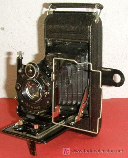 ICA ICARETTE 500 DE FUELLE (Cámaras Fotográficas - Antiguas (hasta 1950))