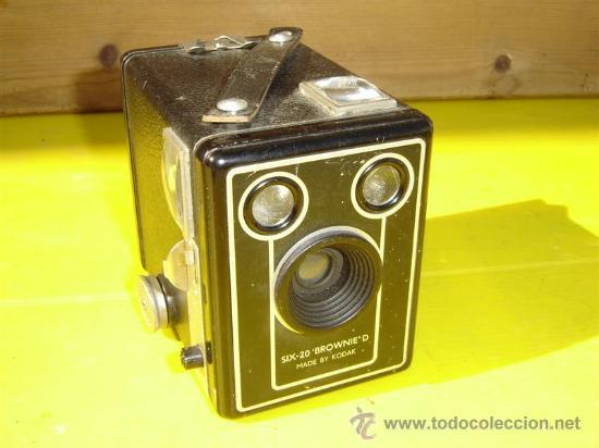 CAMARA DE FOTOS CUADRADAS SIX 20 (Cámaras Fotográficas - Antiguas (hasta 1950))