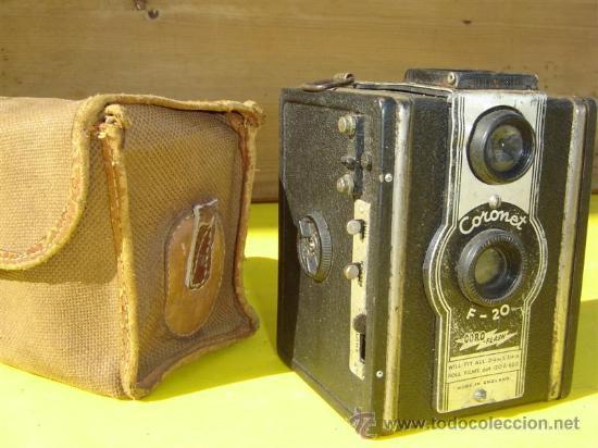 CAMARA DE FOTOS CORONET F-20 (Cámaras Fotográficas - Antiguas (hasta 1950))