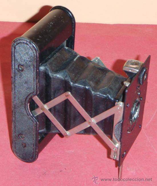 Cámara de fotos: KODAK VEST POCKET AUTOGRAPHIC DE FUELLE - Foto 2 - 16863102