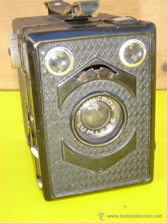 CAMARA DE FOTOS SCOUTBOX (Cámaras Fotográficas - Antiguas (hasta 1950))