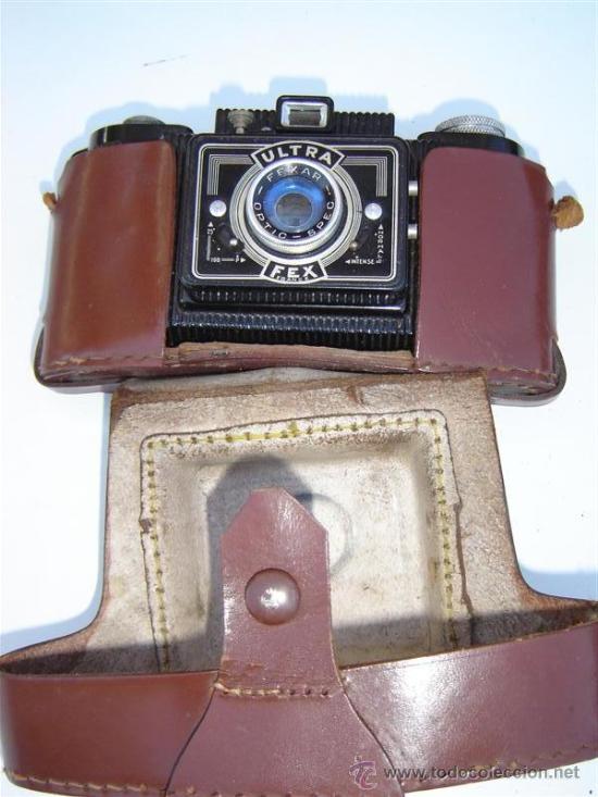 CAMARA DE FOOS DE BAQUELITA ULTRA FLEX (Cámaras Fotográficas - Antiguas (hasta 1950))