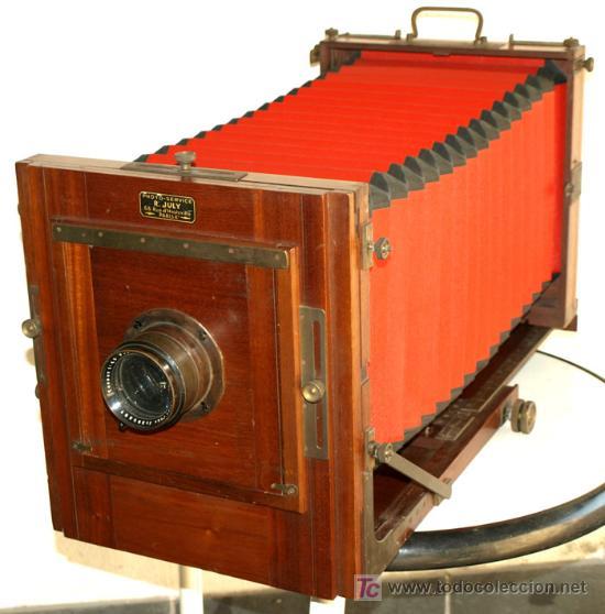 CAMARA PROFESIONAL DE ESTUDIO C1900 DE FUELLE ROJO (Cámaras Fotográficas - Antiguas (hasta 1950))