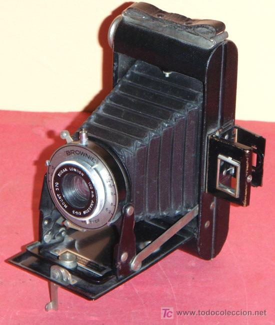 KODAK SIX 20 FOLDING BROWNIE DE FUELLE (Cámaras Fotográficas - Antiguas (hasta 1950))