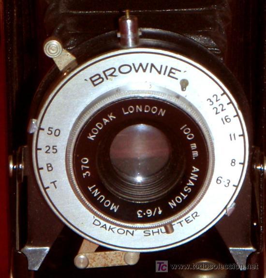 Cámara de fotos: KODAK SIX 20 FOLDING BROWNIE DE FUELLE - Foto 3 - 16973609