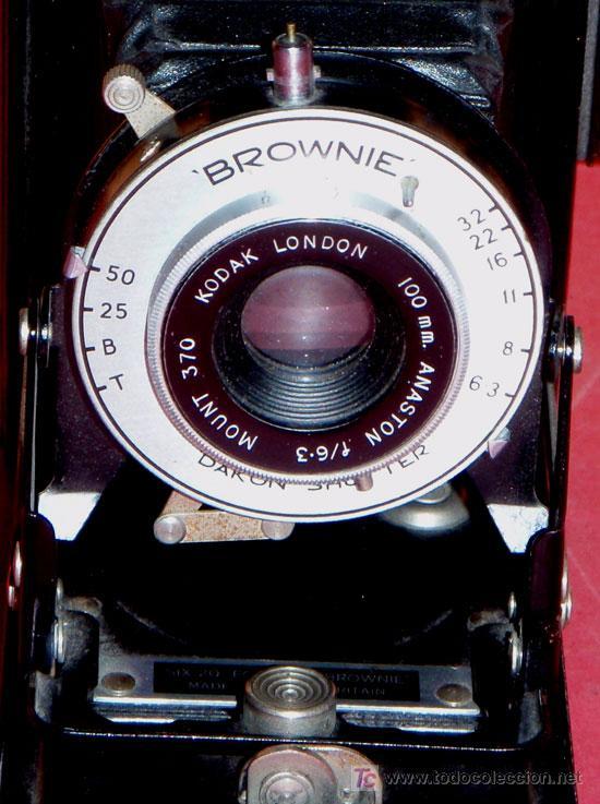 Cámara de fotos: KODAK SIX 20 FOLDING BROWNIE DE FUELLE - Foto 4 - 16973609