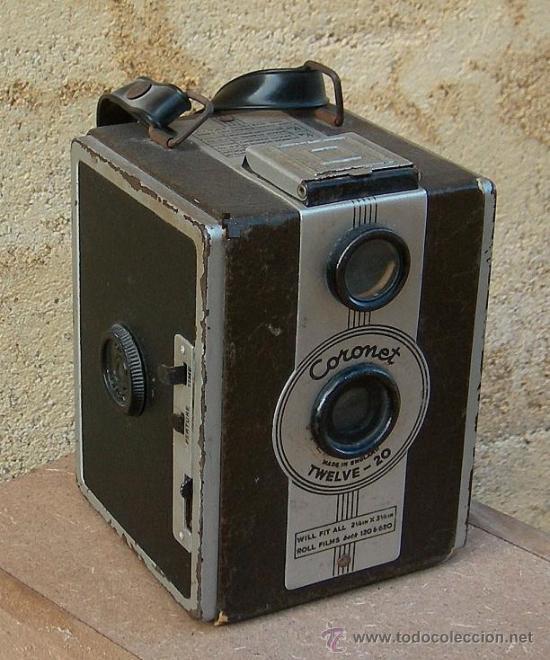 CAMARA CORONET TWELVE-20,, DATA DE 1949 ,,,CAM365 (Cámaras Fotográficas - Antiguas (hasta 1950))