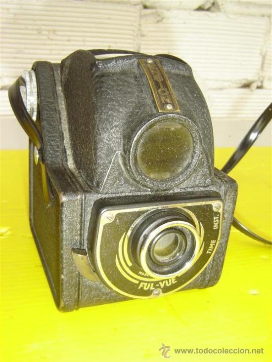 CAMARA DE FOTO ANTIGUA ENSIGN (Cámaras Fotográficas - Antiguas (hasta 1950))