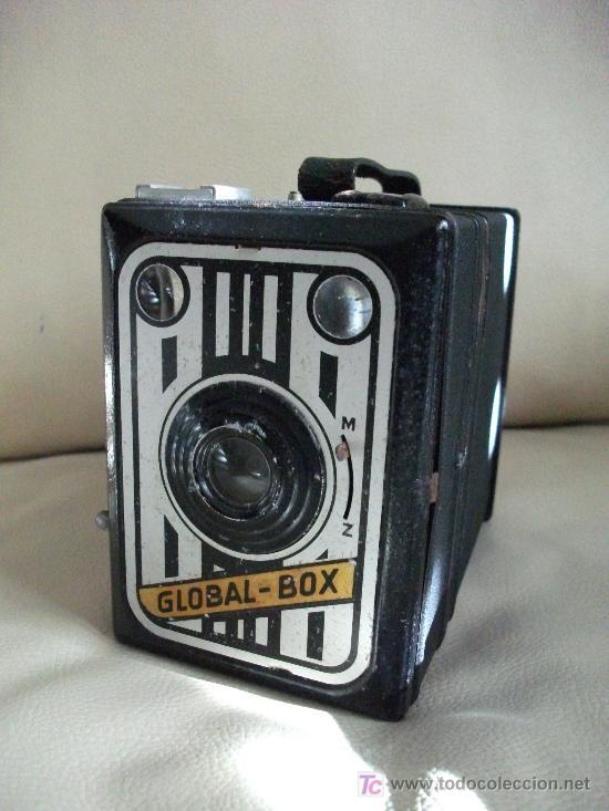 KODAK GLOBAL BOX * __POCO COMUN !! ÚNICA EN LA WEB Y EN EXCELENTE ESTADO, VÉALA !! (Cámaras Fotográficas - Antiguas (hasta 1950))
