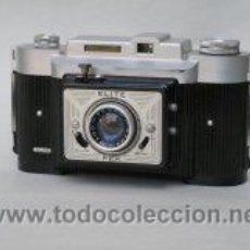 Cámara de fotos: CÁMARA FOTOGRÁFICA FEX ELITE 1953-1955. FRANCIA. . Lote 20214998
