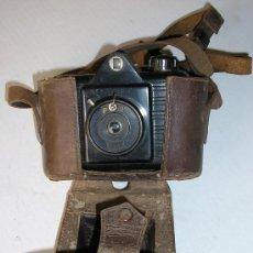 Cámara de fotos: ANTIGUA MAQUINA DE FOTOS CON SU FUNDA ORIGINAL. Lote 23229950
