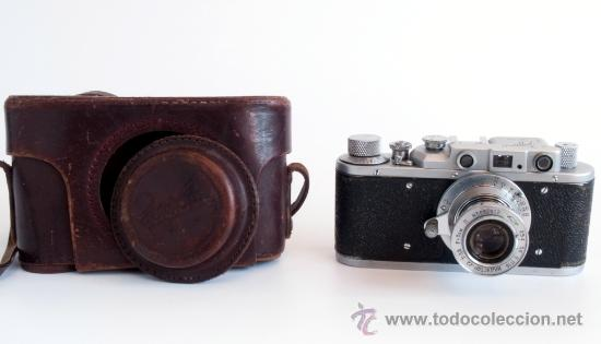 Cámara de fotos: ZORKI 1e + Industar 22 COPIA LEICA + Elmar AÑO 1955 - Foto 3 - 25045385
