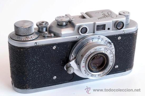 Cámara de fotos: ZORKI 1e + Industar 22 COPIA LEICA + Elmar AÑO 1955 - Foto 6 - 25045385