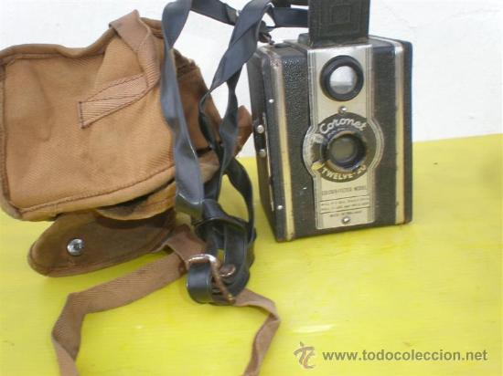 CAMARA DE FOTOS ANTIGUA CORONET (Cámaras Fotográficas - Antiguas (hasta 1950))