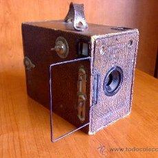 Cámara de fotos: ANTIGUA CAMARA HOUGHTON ENSIGN BOX 2 1/4 B RR. Lote 26713823