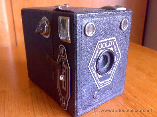 ANTIGUA CAMARA GOLDSTEIN GOLDY BOX (Cámaras Fotográficas - Antiguas (hasta 1950))