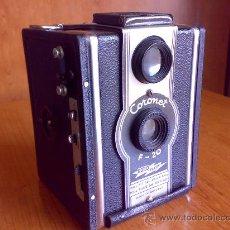 Cámara de fotos: ANTIGUA CAMARA CORONET F-20 CORO-FLASH . Lote 27481300