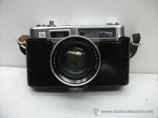 CAMARA DE FOTOS ANTIQUISIMA - YASHICA YASHION DX - ELETRO 35 (Cámaras Fotográficas - Antiguas (hasta 1950))