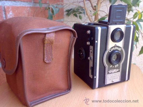 Cámara de fotos: Antigua camara Coronet F-20 Coro-Flash - Foto 3 - 27481300