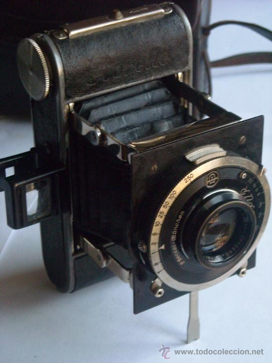 KOCHMANN, KORELLE 4X6.5 FILM 127 COMPUR OBJETIVO VIDAR 75MM F3,5 FUNDA ORIGEN AÑO 1931. (Cámaras Fotográficas - Antiguas (hasta 1950))