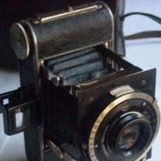 Cámara de fotos: KOCHMANN, KORELLE 4X6.5 FILM 127 COMPUR OBJETIVO VIDAR 75MM F3,5 FUNDA ORIGEN AÑO 1931.. Lote 27726432
