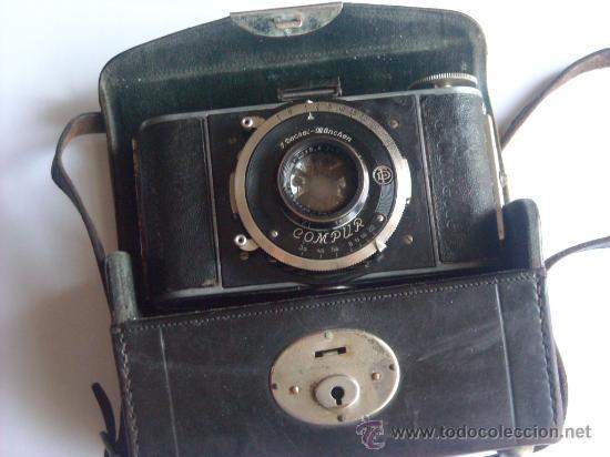 Cámara de fotos: Kochmann, Korelle 4x6.5 film 127 Compur objetivo Vidar 75mm f3,5 Funda origen Año 1931. - Foto 3 - 27726432