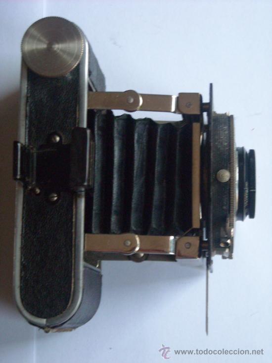 Cámara de fotos: Kochmann, Korelle 4x6.5 film 127 Compur objetivo Vidar 75mm f3,5 Funda origen Año 1931. - Foto 6 - 27726432