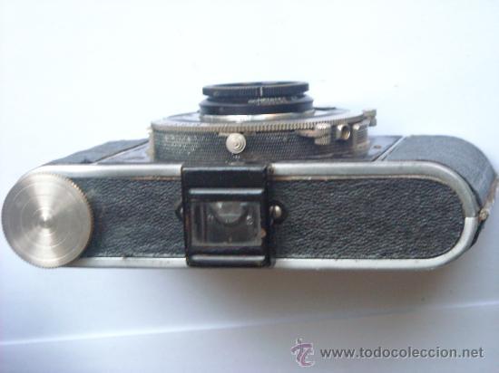 Cámara de fotos: Kochmann, Korelle 4x6.5 film 127 Compur objetivo Vidar 75mm f3,5 Funda origen Año 1931. - Foto 14 - 27726432