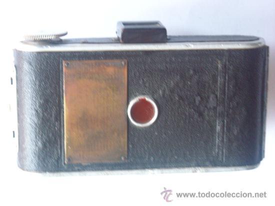 Cámara de fotos: Kochmann, Korelle 4x6.5 film 127 Compur objetivo Vidar 75mm f3,5 Funda origen Año 1931. - Foto 13 - 27726432
