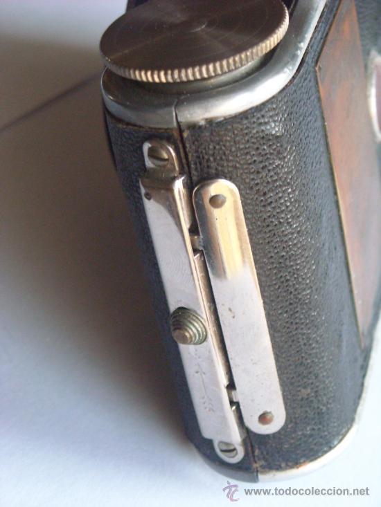 Cámara de fotos: Kochmann, Korelle 4x6.5 film 127 Compur objetivo Vidar 75mm f3,5 Funda origen Año 1931. - Foto 11 - 27726432