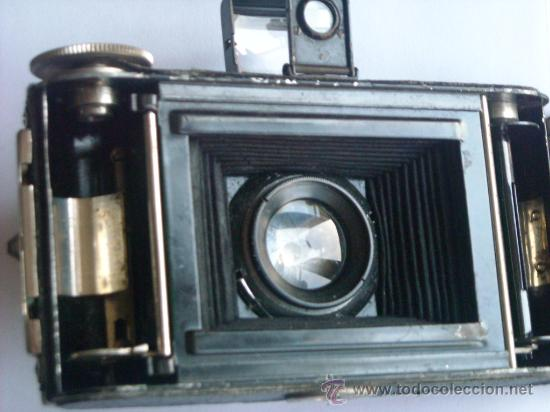 Cámara de fotos: Kochmann, Korelle 4x6.5 film 127 Compur objetivo Vidar 75mm f3,5 Funda origen Año 1931. - Foto 18 - 27726432