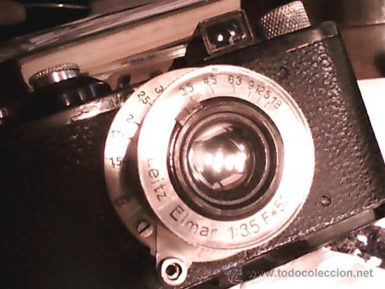 Cámara de fotos: LEICA I 1930 FUNCIONANDO PERFECTAMENTE - Foto 6 - 27981573