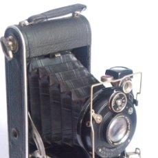 Cámara de fotos: NAGEL DR. AUGUST, LIBRETTE 74 AGC GAUTHIER PRONTO 100 NAGEL-ANASTIGMAT 105MM F4,5 AÑO 1929. Lote 28493310