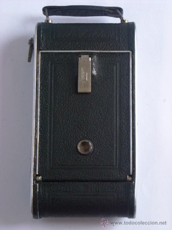 Cámara de fotos: Nagel Dr. August, Librette 74 AGC Gauthier Pronto 100 nagel-Anastigmat 105mm f4,5 Año 1929 - Foto 2 - 28493310