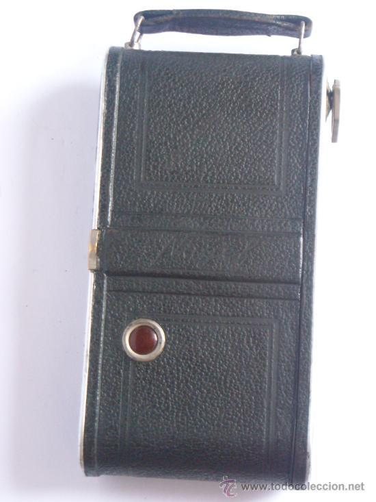 Cámara de fotos: Nagel Dr. August, Librette 74 AGC Gauthier Pronto 100 nagel-Anastigmat 105mm f4,5 Año 1929 - Foto 5 - 28493310