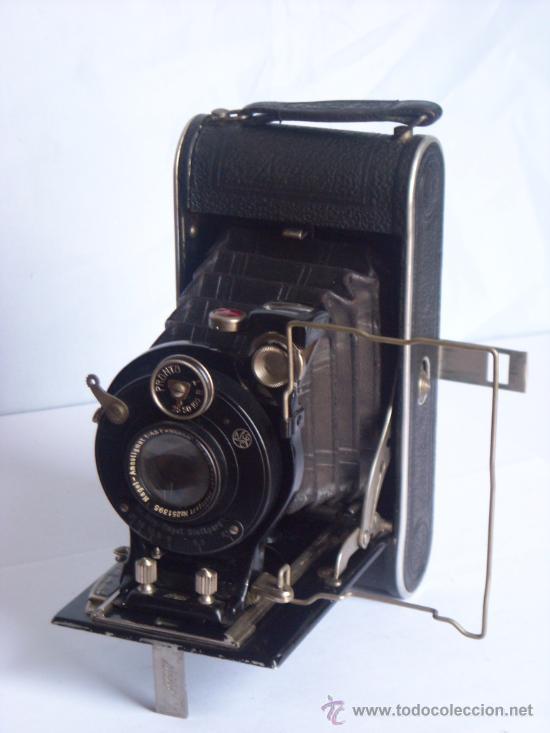 Cámara de fotos: Nagel Dr. August, Librette 74 AGC Gauthier Pronto 100 nagel-Anastigmat 105mm f4,5 Año 1929 - Foto 9 - 28493310