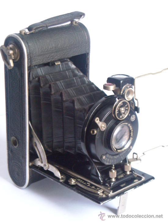 Cámara de fotos: Nagel Dr. August, Librette 74 AGC Gauthier Pronto 100 nagel-Anastigmat 105mm f4,5 Año 1929 - Foto 19 - 28493310