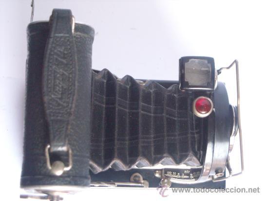Cámara de fotos: Nagel Dr. August, Librette 74 AGC Gauthier Pronto 100 nagel-Anastigmat 105mm f4,5 Año 1929 - Foto 10 - 28493310