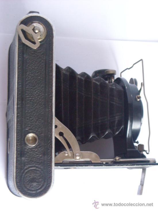 Cámara de fotos: Nagel Dr. August, Librette 74 AGC Gauthier Pronto 100 nagel-Anastigmat 105mm f4,5 Año 1929 - Foto 11 - 28493310