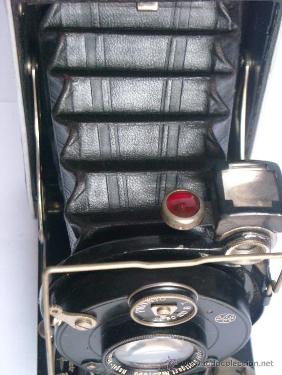 Cámara de fotos: Nagel Dr. August, Librette 74 AGC Gauthier Pronto 100 nagel-Anastigmat 105mm f4,5 Año 1929 - Foto 13 - 28493310