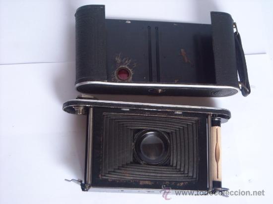 Cámara de fotos: Nagel Dr. August, Librette 74 AGC Gauthier Pronto 100 nagel-Anastigmat 105mm f4,5 Año 1929 - Foto 15 - 28493310