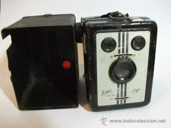 CAMARA RIBER LYS- ITALIANA -120 MMS - MUY POCAS FABRICADAS POR RO TO (Cámaras Fotográficas - Antiguas (hasta 1950))