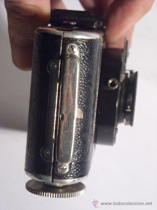 Cámara de fotos: Welta Gucki 3x4 film 127 Schneider kreuznach Radionar 50 f4,5 Modelo escaso Año 1930 - Foto 7 - 29260715
