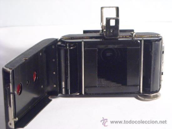 Cámara de fotos: Welta Gucki 3x4 film 127 Schneider kreuznach Radionar 50 f4,5 Modelo escaso Año 1930 - Foto 13 - 29260715